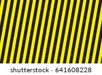 line yellow and black color... | Shutterstock .eps vector #641608228