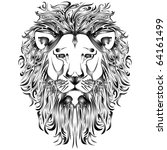 lion vector | Shutterstock .eps vector #64161499