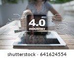 industry 4.0. iot. internet of... | Shutterstock . vector #641624554