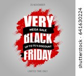 black friday sale banner best... | Shutterstock . vector #641630224