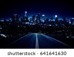 road leading to modern... | Shutterstock . vector #641641630