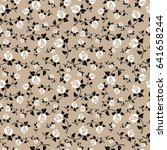 stylish seamless pattern with... | Shutterstock . vector #641658244