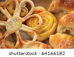 variety of bread | Shutterstock . vector #64166182