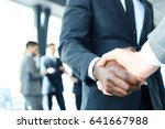 close up of the businessmen... | Shutterstock . vector #641667988