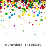 white background with colorful... | Shutterstock .eps vector #641683360