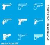 gun icon | Shutterstock .eps vector #641683513