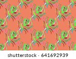 background texture  wallpaper ... | Shutterstock . vector #641692939