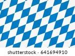 oktoberfest checkered... | Shutterstock . vector #641694910