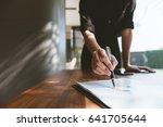 business concept  business... | Shutterstock . vector #641705644