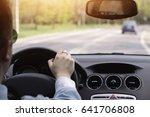 driving a car  | Shutterstock . vector #641706808