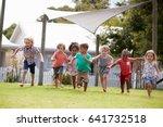 children at montessori school... | Shutterstock . vector #641732518