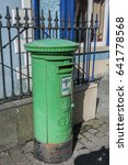 Small photo of the mail service now use Green mailboxes in Ireland