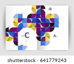 abstract background with color... | Shutterstock .eps vector #641779243