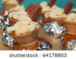 cupcakes in an ice cream cone... | Shutterstock . vector #64178803
