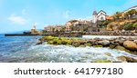 cliff view panorama of quinta... | Shutterstock . vector #641797180