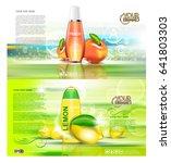 digital vector red and orange... | Shutterstock .eps vector #641803303