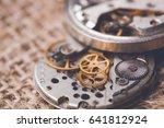Clockwork Old Mechanical Ussr Watch - Fine Art prints