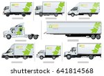 vector realistic transport... | Shutterstock .eps vector #641814568