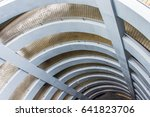 driveway up the building | Shutterstock . vector #641823706