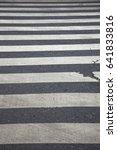 zebra crossing | Shutterstock . vector #641833816