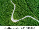 Aerial View Of A Provincial...