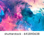 cold multicolor beautiful... | Shutterstock . vector #641840638