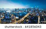 smart city and internet of...   Shutterstock . vector #641856043