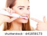 dentist and orthodontist... | Shutterstock . vector #641858173