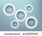gears concept | Shutterstock .eps vector #641859430