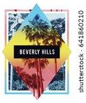 photo palm beverly hills... | Shutterstock . vector #641860210