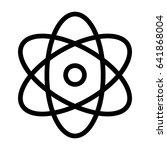 atom   Shutterstock .eps vector #641868004