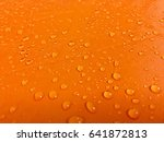 water droplets on the surface... | Shutterstock . vector #641872813