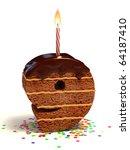 Number Nine Shaped Chocolate...