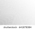 abstract halftone dotted... | Shutterstock .eps vector #641878384