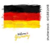 symbol  poster  banner germany. ... | Shutterstock .eps vector #641881648