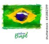 symbol  poster  banner brazil.... | Shutterstock .eps vector #641882599