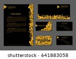 professional corporate identity ... | Shutterstock .eps vector #641883058