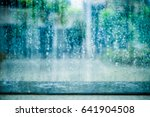 rain at the city | Shutterstock . vector #641904508