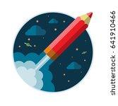 flat design modern creative... | Shutterstock . vector #641910466