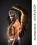Native American Indian Chief...