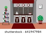 illustrating the interior of a... | Shutterstock . vector #641947984