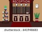 illustrating the interior of a... | Shutterstock . vector #641948683