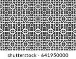 beautiful geometric seamless...   Shutterstock .eps vector #641950000