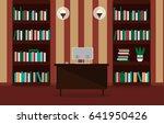 illustration of a comfortable... | Shutterstock . vector #641950426
