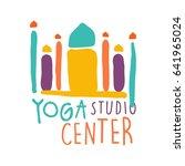 Yoga Studio Center Logo ...
