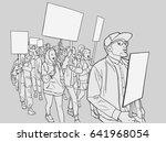illustration of students... | Shutterstock .eps vector #641968054