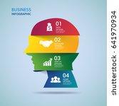 modern infographics options...   Shutterstock .eps vector #641970934