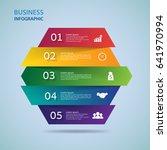 modern infographics process ... | Shutterstock .eps vector #641970994