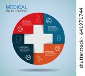 medical infographic design head ... | Shutterstock .eps vector #641971744