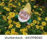 Funny Garden Gnome  In The...